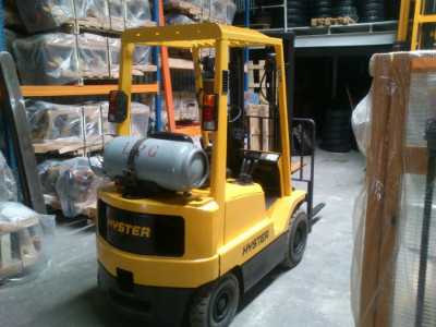 second hand hyster forklift